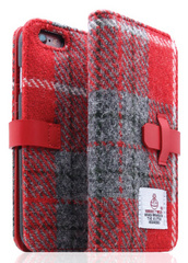 D5 Harris Tweed Edition Case - Gray/Red  (iPhone 6/6s Plus)