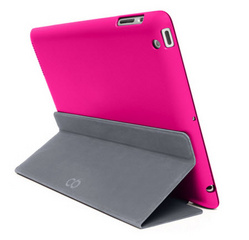 Magnefix Bookcase for iPad Air 2 - Bubblegum/Graphite