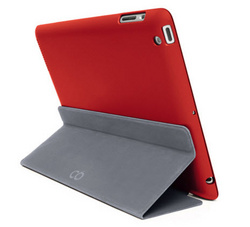 Magnefix Bookcase for iPad Air 2 - Red/Graphite
