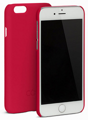 C6 Hard Matt case for iPhone 6/6s - Red