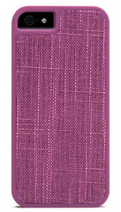 Booq Fibre snapcase for iPhone 5/5s/SE - Purple