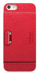 D6 Leather Case - Red