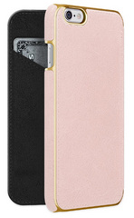 Saddle Leather Folio - Pink