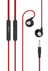 Devia Ripple in-ear headphones - Red