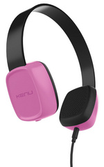 KENU Groovies Kids Headphones - Pink