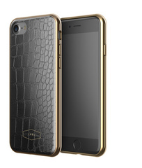 Crocodile Pattern Case- Black