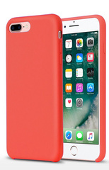 Original Silicone Case for iPhone 7/8 Plus - Red