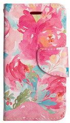 Flip Wallet Case - Watercolor Floral