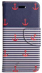 Flip Wallet Case - Classic Anchor