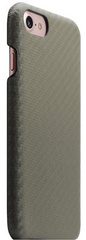 D+ Italian Carbon Leather Back Case - Khaki