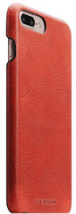 D7 Italian Wax Leather Back Case -  Red