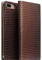 D3 Italian Lizard Leather Case - Brown