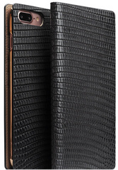 D3 Italian Lizard Leather Case - Black