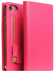 SLG D5 CSL Zipper Case for iPhone 7/8 - Pink