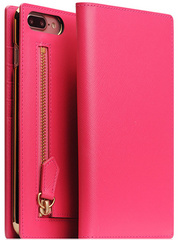 SLG D5 CSL Zipper Case for iPhone 7/8 Plus - Pink