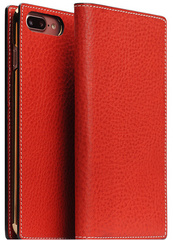 D6 Italian Minerva Box Leather Case - Red