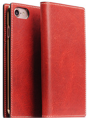 D7 Italian Wax Leather Case - Red