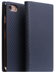 D+ Italian Carbon Leather Case - Navy