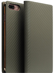 D+ Italian Carbon Leather Case - Khaki