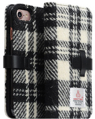 D5 Special Edition X Harris Tweed Case - White/Black (iPhone 7/8)