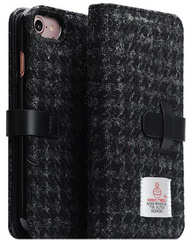 D5 Special Edition X Harris Tweed Case - Black (iPhone 7/8)
