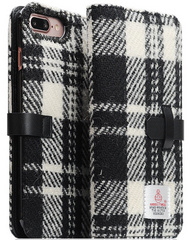 D5 Special Edition X Harris Tweed Case - White/Black (iPhone 7/8 Plus)