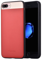 Vivid Leather Case - Red
