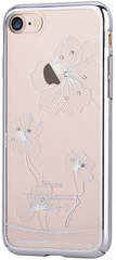 Comma Crystal Flora Case for iPhone 7/8 - Silver