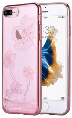 Comma Crystal Flora Case for iPhone 7/8 Plus - Rose Gold