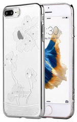 Comma Crystal Flora Case for iPhone 7/8 Plus - Silver