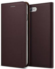 Genuine Leather Diary - Wine Red