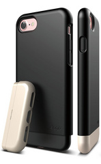 Elago S7 Glide for iPhone 7 - Black / Champagne Gold