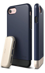 Elago S7 Glide for iPhone 7 - Jean Indigo / Champagne Gold