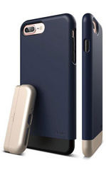 Elago S7+ Glide for iPhone 7 Plus - Jean Indigo / Champagne Gold