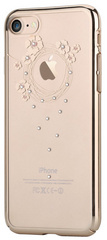 Devia Crystal Garland for iPhone 7 - Gold