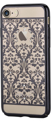 Devia Crystal Baroque for iPhone 7 - Black