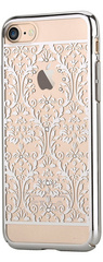 Devia Crystal Baroque for iPhone 7 - Silver
