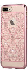 Devia Crystal Baroque for iPhone 7 Plus - Rose Gold