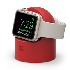 Apple Watch Night Stand - Red