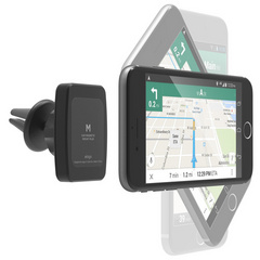 Car Magnetic Mount Plus for large phones - Black