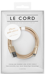 Le Cord Solid Gold - 1.2m/2m