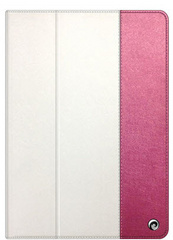 Asti Case for iPad Air - Pink / White