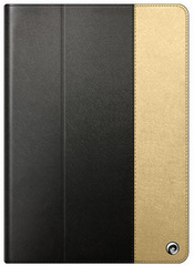 Asti Case for iPad Air - Black / Gold