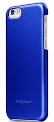 Macally Protective snap-on case for iPhone 6/6s - Blue