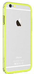 Devia Classic Bumper for iPhone 6/6s - Lemon Green