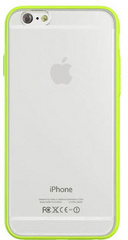 Devia Hybrid case for iPhone 6/6S - Lemon Green