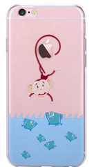 Devia Vango Soft TPU Case for iPhone 6/6S - Monkey
