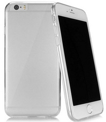 Caseual Outline case for iPhone 6/6S - Clear
