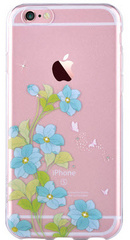 Crystal Bluebell Soft Case - Blue
