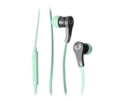 Lace In Ear Headphones - Peppermint